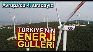 """Türkiye'nin """"Enerji Gülleri"""" Havadan Görüntülendi"""