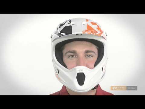 Fox Racing Rampage Race Full Face Mountain Bike Helmet (For Men)