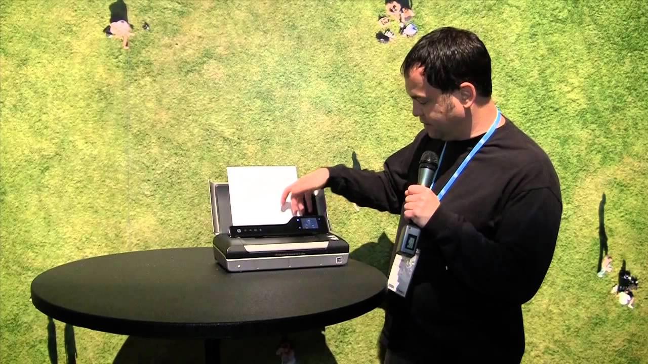 Hp Officejet 150 Mobile All In One Printer Scanner