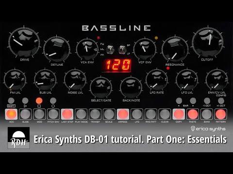 Erica Synths DB-01 tutorial - Part 1: Essentials
