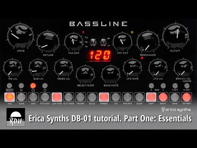 Erica Synths DB-01 tutorial - Part 1: Essentials