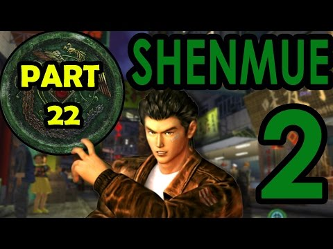 [JAPANESE VERSION]  SHENMUE 2: How The Hell Do I Hit Him?!  -PART 22