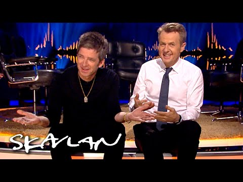 Honest Noel Gallagher answers dilemmas | SVT/TV 2/Skavlan