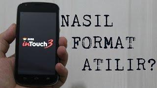 Avea inTouch 3'e Nasıl Format Atılır?