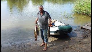 Рыбалка на Ахтубе  Тролинг на р  Митинка