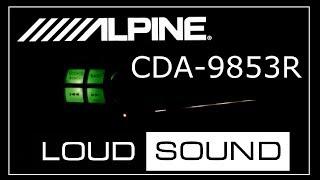 ALPINE CDA-9853R -  настройка