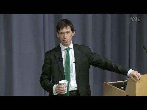 "Rory Stewart OBE: ""Failed States - and How Not to Fix Them"""