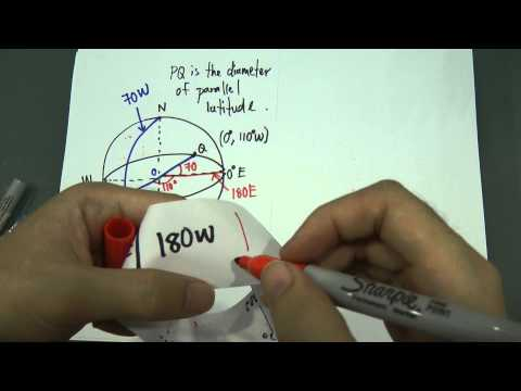 SPM - Modern Maths - Form 5 - Longitude of the earth (Further explain)