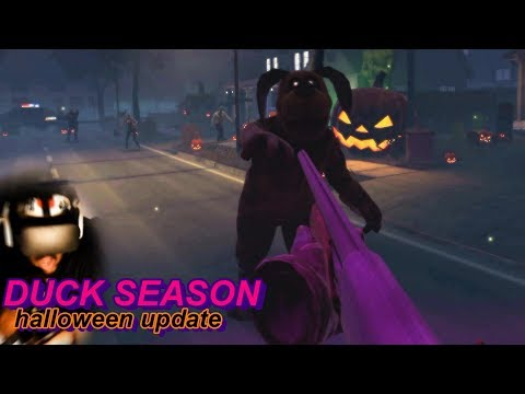 THERE ARE ZOMBIES EVERYWHERE!! MOM IS A ZOMBIE!?   NEW Duck Season #6 (Halloween Update)