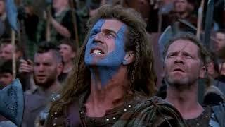 Scottish mocking British - BraveHeart 1995