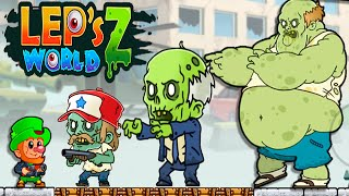 Lep's World Z - Gameplay Walkthrough Part 5 - Massive Zombies Kill Best Moments