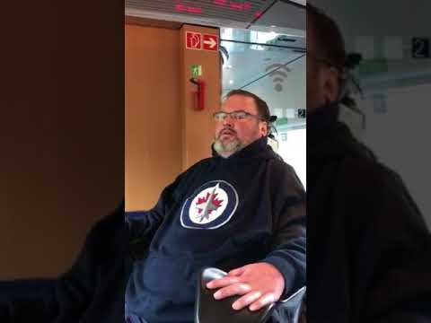 Germany Energy Trip train ride from Freiburg to Frankfurt