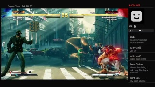 Crazy Saturday street fighter v G