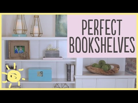 TIPS | How To Style A Bookshelf (5 Easy Steps!!)