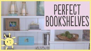 DIY How To Style A Bookshelf (5 Easy Steps!!)