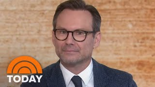 Christian Slater Stars Alongside Glenn Close In 'The Wife' | TODAY