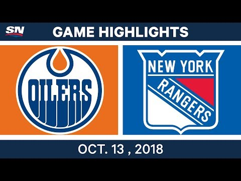 NHL Highlights | Oilers vs. Rangers - Oct. 13, 2018
