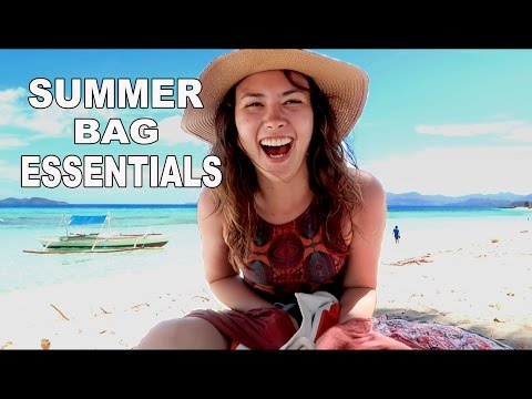 Summer Essentials: What's in my bag