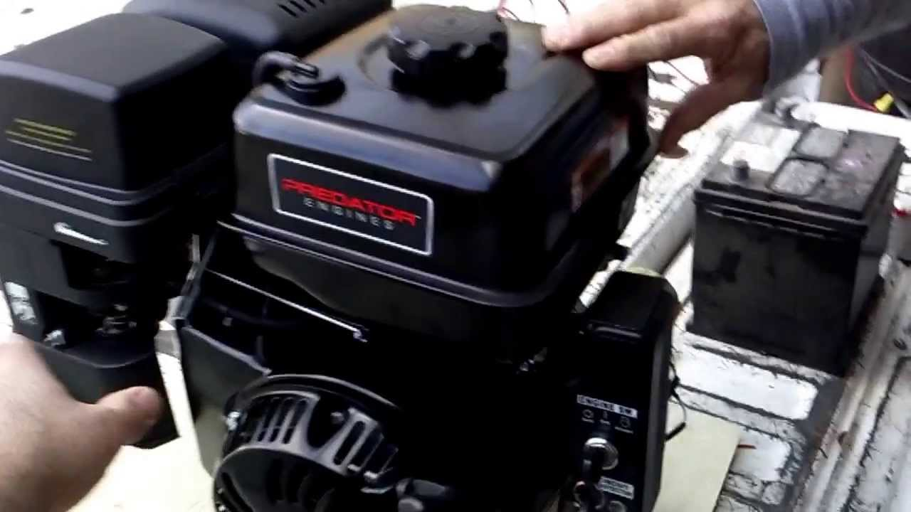 Harbor Freight Predator Engine 420cc Youtube