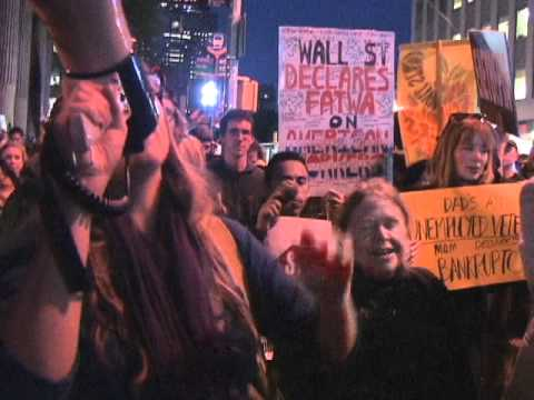 Reverend Billy & The Church of Earthalujah!, Occupy Wall Street, New York, NY, 5 October 2011