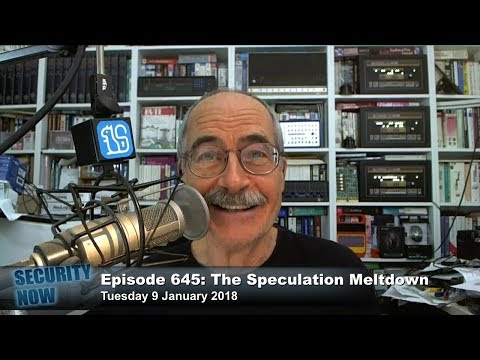 Security Now 645: The Speculation Meltdown
