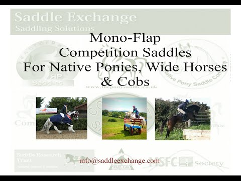 Performance Mono Flap Saddles for Native Ponies and Cobs