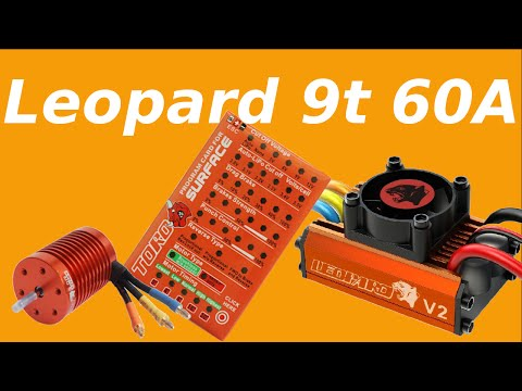 Come Programmare|How to Program| Leopard 9t 60A 4370Kv combo brushless SkyRc