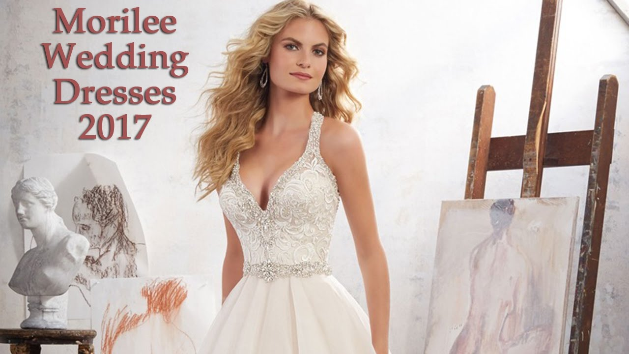 77171a9792227 Mori Lee Spring 2017 Wedding Dresses - YouTube