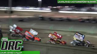 Limaland Motorsports Park | NRA Sprint Invaders Feature 4/14/17