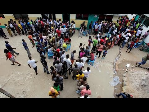 Vote counting underway in Liberia