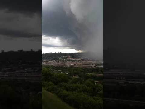 Crazy Cincinnati Storm