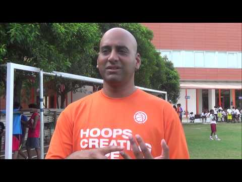 Shaun J founder of Crossover basketball shares his experiences with DAS
