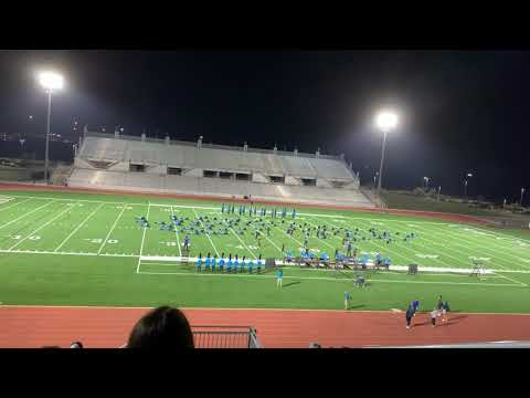 2020 Clear Springs High School Marching Band Improvement from each performance.