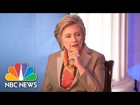 Hillary Clinton's Talks Donald Trump, 2016 Election, North Korea (Full Interview) | NBC News