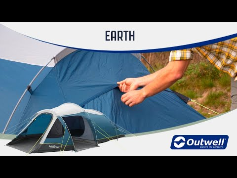 Outwell Earth 2 & 3 & 4 & 5 - Poled Camping Tents (2020) | Innovative Family Camping