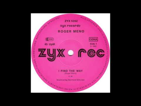 "Roger Meno  ‎– I Find The Way (12"" Version) 1985"
