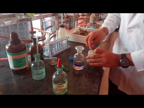 Chloride Ion Test In Lab