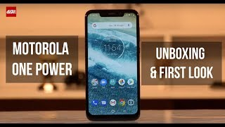 Motorola One Power Unboxing & First Look | Rs.15,999 | Digit.in