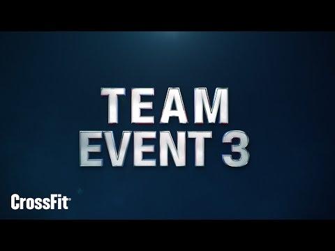 2015 Regionals: Team Event 3 Announcement