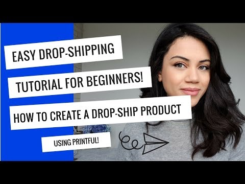 How to use Printful to create super easy drop-ship products you can sell on Etsy and Amazon! thumbnail