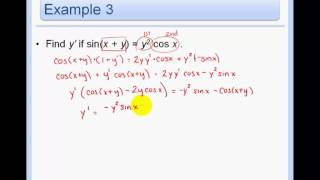 Download Video 3.5 and 3.6 - Implicit Differentiation + Inverse Trigonometric Functions and Their Derivatives MP3 3GP MP4