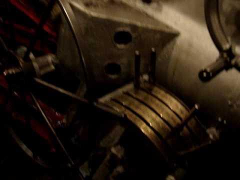 """В машинном отделении колёсного парохода """"Гоголь"""""""