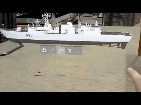 Royal Canadian Navy to integrate augmented reality based systems