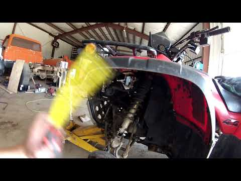 Repeat Diy lift kit for a Honda Foreman 450 by Butchered