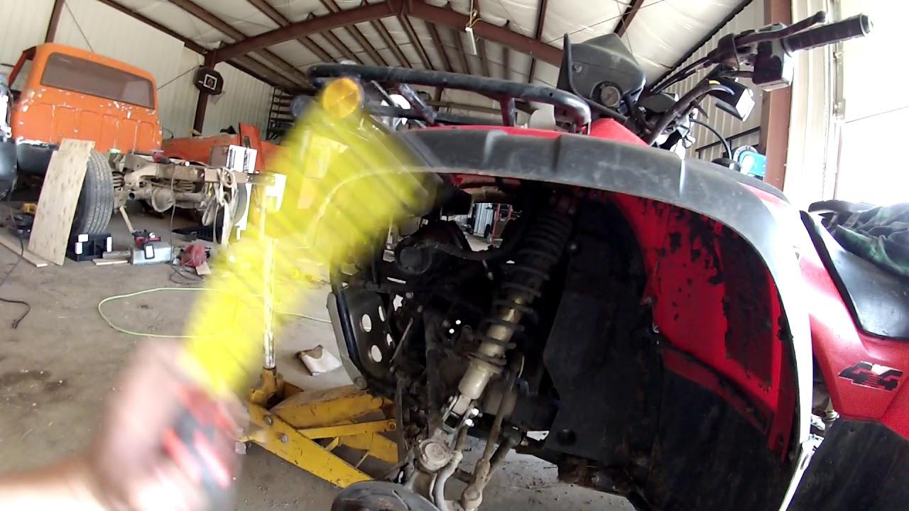 Diy lift kit for a Honda Foreman 450