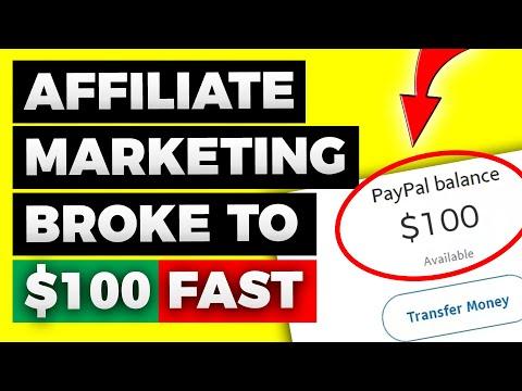 AFFILIATE MARKETING: Make $100 A Day As A Beginner