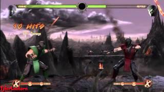 MK9 - Ermac 69% & 65% Damage X-RAY Combos - Mortal Kombat 9 (2011)