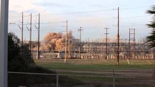 Dynegy South Bay Power Plant Implosion