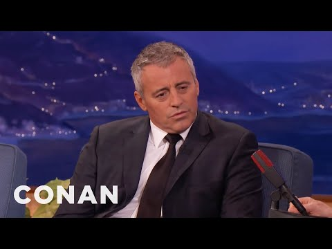 Matt LeBlanc Announces His Retirement  - CONAN on TBS