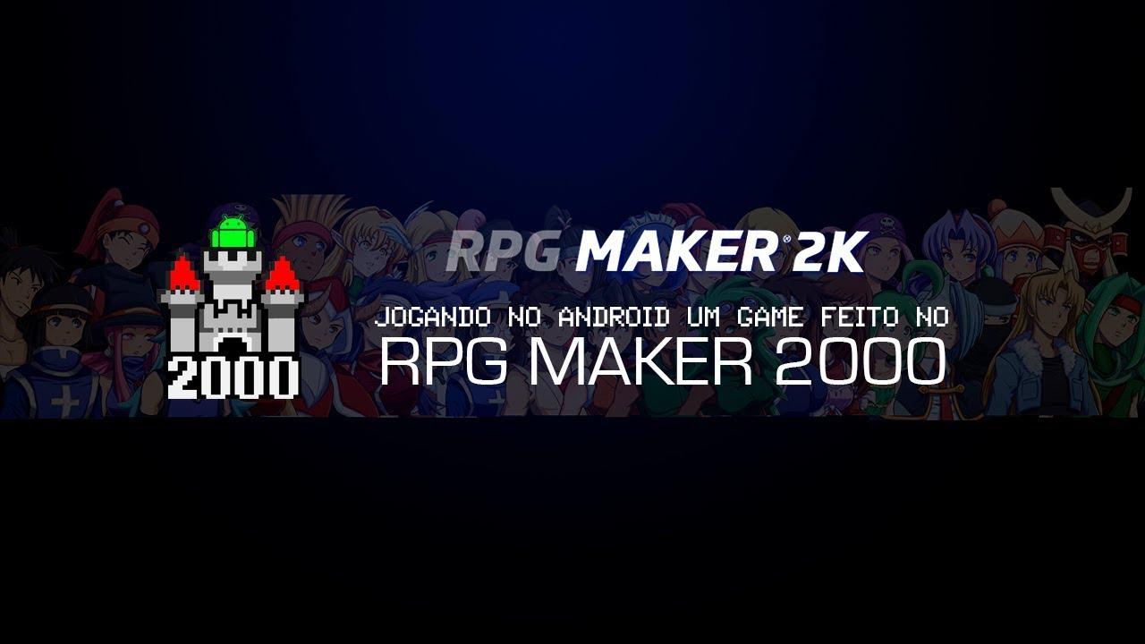 RODANDO GAMES DE RPG MAKER 2000 NO ANDROID
